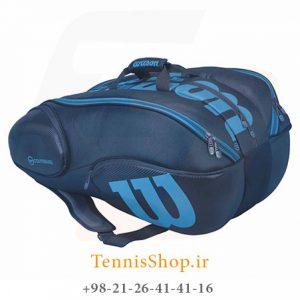 wilson vancouver 15 pack 1 300x300 - ساک تنیس 15 راکته Wilson Vancouver BLUE