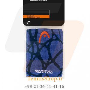 wristband 5 radical nvbl 300x300 - مچ بند تنیس مدل 5 سانتی Radical برند Head رنگ آبی سرمه ای