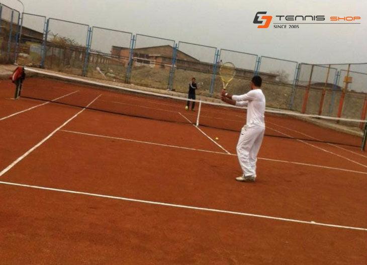 mehrabadX - ساخت زمین تنیس مهرآبادجنوبی