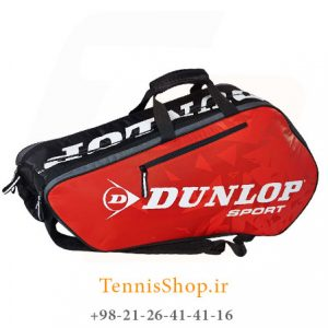 Dunlop Racket Bag Thermo Red 1 300x300 - ساک تنیس 6 راکته Dunlop Tour Racket Bag Red