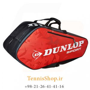 Dunlop Racket Bag Thermo Red 2 300x300 - ساک تنیس 6 راکته Dunlop Tour Racket Bag Red