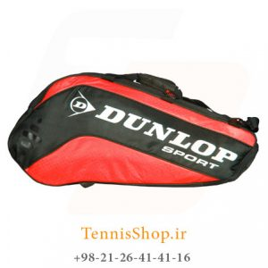 Dunlop Racket Bag Thermo Red CC 300x300 - ساک تنیس 10 راکته Dunlop Racket Bag Thermo Red