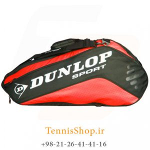 Dunlop Racket Bag Thermo Red CCVV 300x300 - ساک تنیس 10 راکته Dunlop Racket Bag Thermo Red