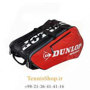 Dunlop Tour Racket Bag Red Z1 300x300 - ساک تنیس 10 راکته Dunlop Tour Racket Bag Red