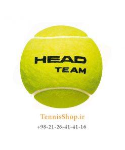 تنیس HEAD TEAM 247x296 - 12 قوطی سه تایی توپ تنیس مدل Team برند Head