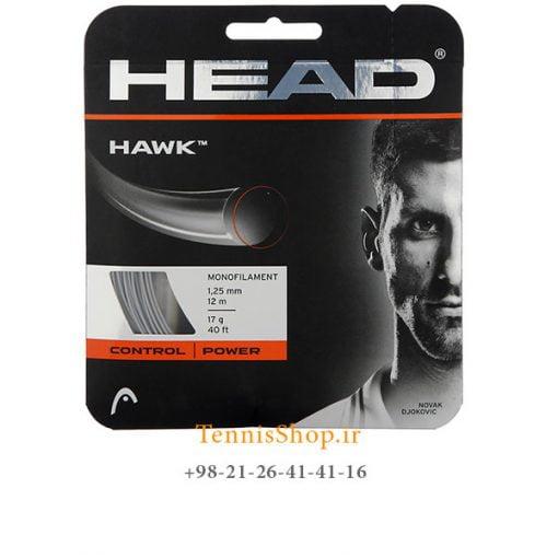 زه تک راکت تنیس برند Head مدل Hawk 17g