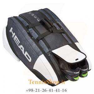 ساک تنیس 12 راکته برند Head مدل Djokovic Monstercombi 360