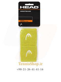 مچ بند تنیس لیمویی 2.5 سانتی برند Head
