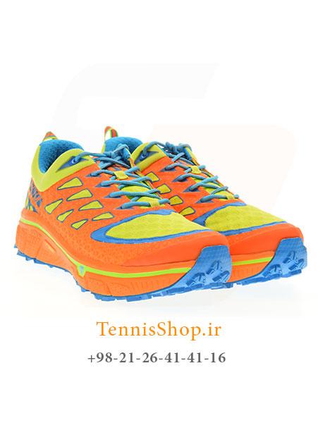 کفش پیاده روی نارنجی لیمویی برند TECNICA مدل SUPREME MAX