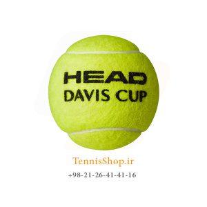 HEAD DAVIS CUP TENNIS BALL 300x300 - 12 قوطی سه تایی توپ تنیس مدل Davis Cup برند Head