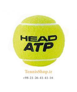 HEAD TENNIS BALL ATP 247x296 - قوطی چهار تایی توپ تنیس برند Head مدل ATP