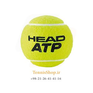 HEAD TENNIS BALL ATP 300x300 - قوطی چهار تایی توپ تنیس برند Head مدل ATP