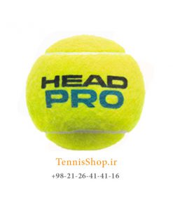 HEAD TENNIS BALL PRO 247x296 - 12 قوطی سه تایی توپ تنیس برند Head مدل Pro