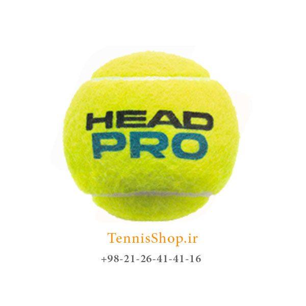 HEAD TENNIS BALL PRO 600x600 - 12 قوطی سه تایی توپ تنیس برند Head مدل Pro