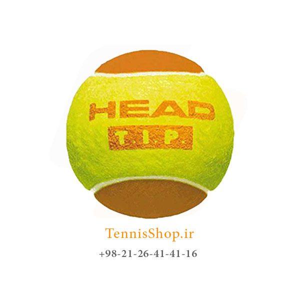 HEAD TENNIS BALL TIP ORANGE 600x600 - 4 قوطی سه تایی توپ تنیس نارنجی برند HEAD مدل TIP