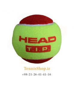HEAD TENNIS BALL TIP RED 247x296 - پک سه تایی توپ تنیس قرمز برند HEAD مدل TIP