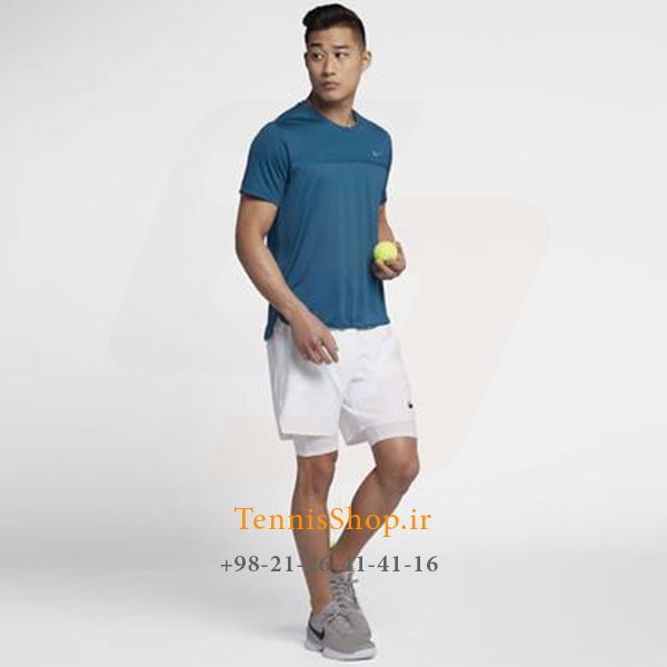تنیس آبی تیره برند Nike مدل Classic Court Challenger 2 600x600 - تیشرت تنیس آبی تیره برند Nike مدل Classic Court Challenger