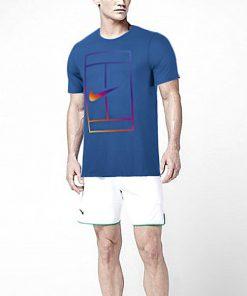 تنیس برند Nike مدل COURT IRIDESCENT 247x296 - تیشرت تنیس آبی برند Nike مدل COURT IRIDESCENT