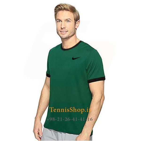 تنیس سبز برند Nike مدل Court Dry Team Crew 600x600 - تیشرت تنیس سبز برند Nike مدل Court Dry Team Crew
