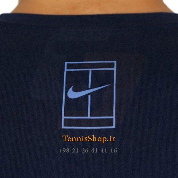 تنیس سرمه ای برند Nike مدل Court Roger Federer 4 600x600 - تیشرت تنیس سرمه ای برند Nike مدل Court Roger Federer