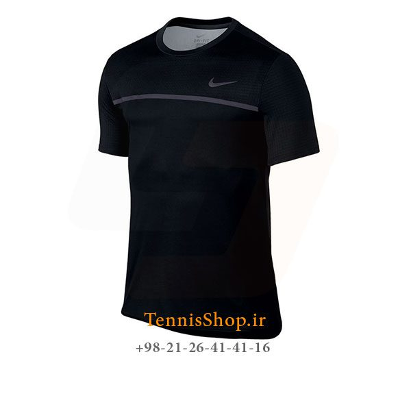 تیشرت تنیس مشکی برند Nike مدل Classic Court Challenger