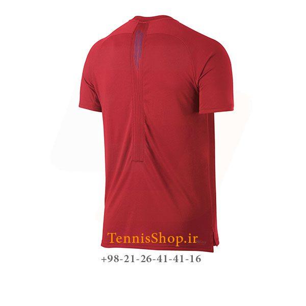 تیشرت تنیس قرمز برند Nike مدل BREATHE