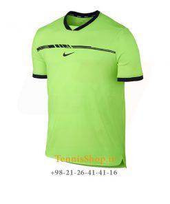 تیشرت تنیس سبز برند Nike مدل RAFA AEROREACT CHALLENGER