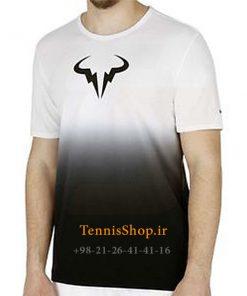 تیشرت تنیس سفید برند Nike مدل Rafael Nadal Rafa Premier Crew
