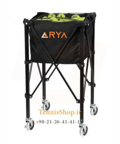 توپ تنیس چرخدار برند آریا ARYA X 247x296 - سبد توپ تنیس چرخ دار برند آریا ARYA