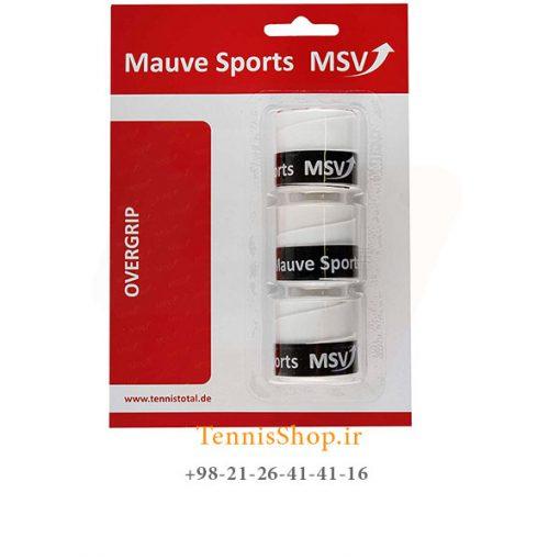 اورگریپ راکت تنیس MSV مدل Prepsi Absorb رنگ سفید