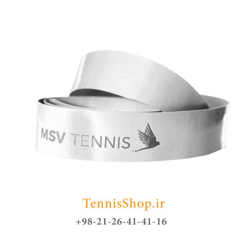 اورگریپ راکت تنیس MSV مدل SKIN PERFORATED رنگ سفید