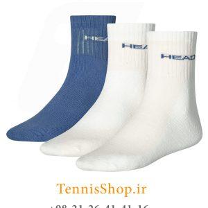 تنیس سه جفتی مدل Short Crew برند Head رنگ سفید آبی 2 300x300 - جوراب تنیس سه جفتی  مدل Short Crew برند Head رنگ سفید آبی