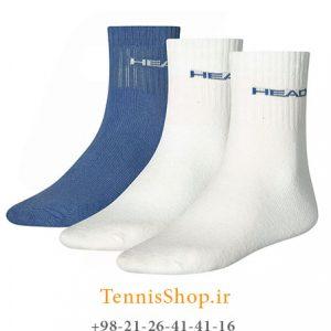 تنیس سه جفتی مدل Short Crew برند Head رنگ سفید آبی 300x300 - جوراب تنیس سه جفتی  مدل Short Crew برند Head رنگ سفید آبی