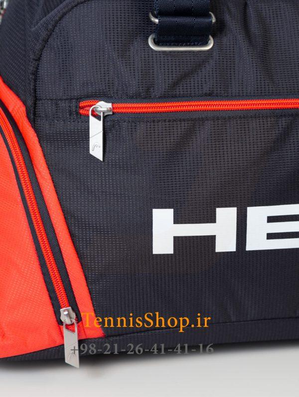 باشگاهی تنیس مدل Tour Team Court برند Head رنگ سرمه ای نارنجی 1 4 600x798 - ساک باشگاهی تنیس مدل Tour Team Court برند Head رنگ سرمه ای نارنجی