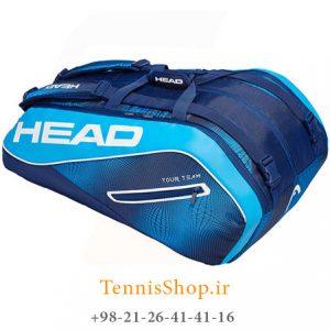 تنیس 12 راکته مدل Tour Team 2019 برند Head رنگ آبی سرمه ای 300x300 - ساک تنیس 12 راکته مدل Tour Team 2019 برند Head رنگ آبی سرمه ای