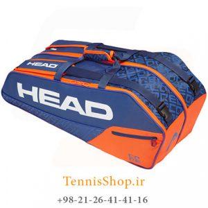 تنیس 6 راکته مدل Core Pro 2019 برند Head رنگ آبی نارنجی 300x300 - ساک تنیس 6 راکته مدل Core Pro 2019 برند Head رنگ آبی نارنجی