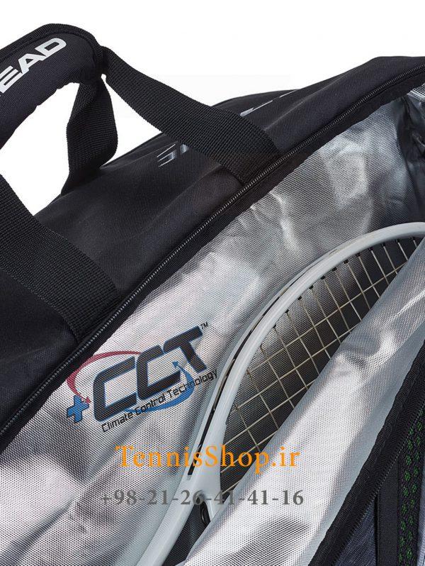 تنیس 6 راکته مدل Djokovic 2019 برند Head 3 4 600x798 - ساک تنیس 6 راکته مدل Djokovic 2019 برند Head