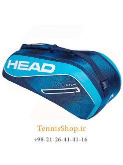 ساک تنیس هد سری Tour Team مدل 6 راکته رنگ آبی سرمه ای NEW