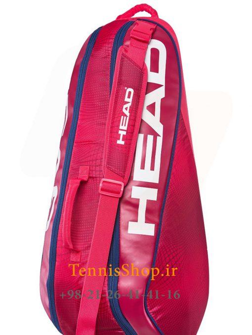 """تنیس 6 راکته مدل Tour Team 2019 برند Head رنگ قرمز سرمه ای 1 1 <p style=""""text-align: justify""""><span style=""""color: #000000""""><span style=""""color: #ff6600""""><strong><a style=""""color: #ff6600"""" href=""""https://tennisshop.ir/product-category/%D8%AE%D8%B1%DB%8C%D8%AF-%D8%B3%D8%A7%DA%A9-%D8%AA%D9%86%DB%8C%D8%B3/%D8%A8%D8%B1%D9%86%D8%AF-%D9%87%D8%A7%DB%8C-%D8%B3%D8%A7%DA%A9-%D8%AA%D9%86%DB%8C%D8%B3/%D8%B3%D8%A7%DA%A9-%D8%AA%D9%86%DB%8C%D8%B3-%D9%87%D8%AF/"""" target=""""_blank"""" rel=""""noopener noreferrer"""">ساک تنیس هد</a></strong></span> <span style=""""color: #ff6600""""><strong><a style=""""color: #ff6600"""" href=""""https://tennisshop.ir/series/%d9%87%d8%af-tour-team/"""" target=""""_blank"""" rel=""""noopener noreferrer"""">سری Tour Team</a></strong></span> مدل 6 راکته رنگ قرمز سرمه ای NEW محصول سال 2019 کمپانی هد ، با آخرین تکنولوژی روز در گردش هوای درون ساک و سیستم محافظت از راکت در شرایط تغییر دماییی Climate Control Tech می باشد. این ساک بسیار زیبا از مواد اولیه بسیار با کیفیت و مقاومی ساخته شده ، بخش بندی مناسب و تخصیص فضاهای جداگانه برای لوازم مختلف از دیگر گزینه های کاربردی این ساک تنیس می باشد.</span></p>"""