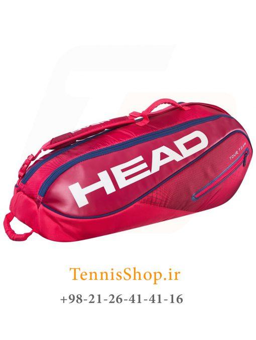 """تنیس 6 راکته مدل Tour Team 2019 برند Head رنگ قرمز سرمه ای 1 3 <p style=""""text-align: justify""""><span style=""""color: #000000""""><span style=""""color: #ff6600""""><strong><a style=""""color: #ff6600"""" href=""""https://tennisshop.ir/product-category/%D8%AE%D8%B1%DB%8C%D8%AF-%D8%B3%D8%A7%DA%A9-%D8%AA%D9%86%DB%8C%D8%B3/%D8%A8%D8%B1%D9%86%D8%AF-%D9%87%D8%A7%DB%8C-%D8%B3%D8%A7%DA%A9-%D8%AA%D9%86%DB%8C%D8%B3/%D8%B3%D8%A7%DA%A9-%D8%AA%D9%86%DB%8C%D8%B3-%D9%87%D8%AF/"""" target=""""_blank"""" rel=""""noopener noreferrer"""">ساک تنیس هد</a></strong></span> <span style=""""color: #ff6600""""><strong><a style=""""color: #ff6600"""" href=""""https://tennisshop.ir/series/%d9%87%d8%af-tour-team/"""" target=""""_blank"""" rel=""""noopener noreferrer"""">سری Tour Team</a></strong></span> مدل 6 راکته رنگ قرمز سرمه ای NEW محصول سال 2019 کمپانی هد ، با آخرین تکنولوژی روز در گردش هوای درون ساک و سیستم محافظت از راکت در شرایط تغییر دماییی Climate Control Tech می باشد. این ساک بسیار زیبا از مواد اولیه بسیار با کیفیت و مقاومی ساخته شده ، بخش بندی مناسب و تخصیص فضاهای جداگانه برای لوازم مختلف از دیگر گزینه های کاربردی این ساک تنیس می باشد.</span></p>"""