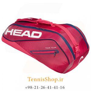 تنیس 6 راکته مدل Tour Team 2019 برند Head رنگ قرمز سرمه ای 300x300 - ساک تنیس 6 راکته مدل Tour Team 2019 برند Head رنگ قرمز سرمه ای