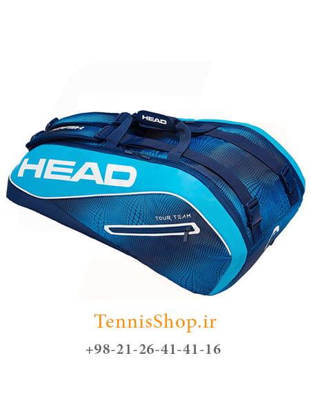 ساک تنیس هد سری Tour Team مدل 9 راکته رنگ آبی سرمه ای NEW