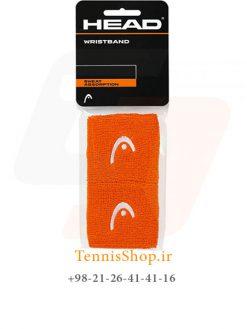 مچ بند تنیس هد سری 2.5 اینچ مدل 2 عددی رنگ نارنجی