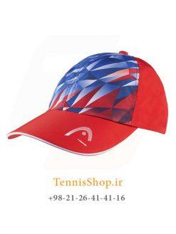کلاه تنیس هد مدل Light Function رنگ قرمز آبی