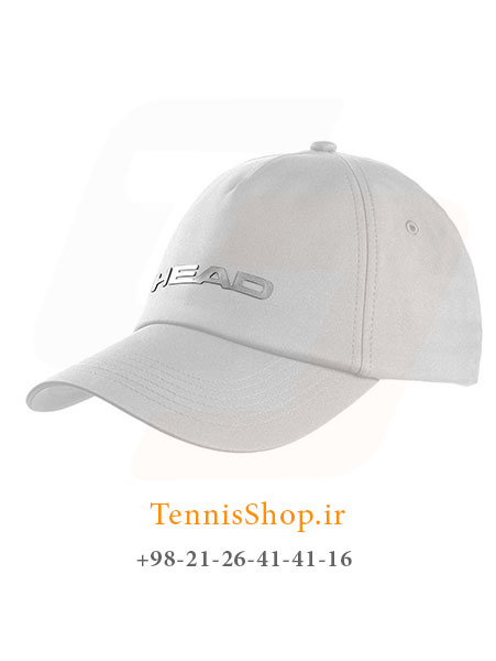 کلاه تنیس مدل Performance برند Head رنگ سفید