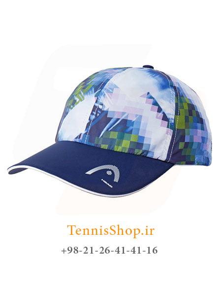 کلاه تنیس هد مدلLight Function رنگ آبی زرد