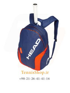 کوله پشتی تنیس هد سری Radical Rebel رنگ آبی نارنجی NEW