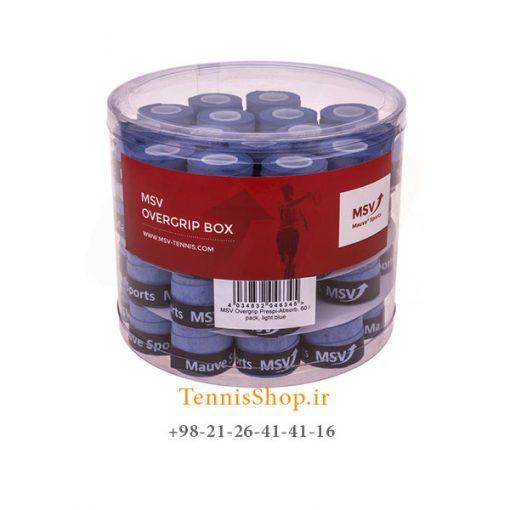 اورگریپ راکت تنیس 60 عددی MSV مدل Prepsi Absorb رنگ آبی