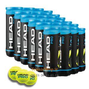 24 عددی قوطی 3 تایی توپ تنیس HEAD مدل PRO 300x300 - کارتن 24 عددی قوطی 3 تایی توپ تنیس HEAD مدل PRO