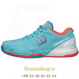 تنیس زنانه ویلسون سری Pro 2.5 مدل RUSH رنگ آبی سفید 1 300x300 - کفش تنیس زنانه ویلسون سری Pro 2.5 مدل RUSH رنگ آبی سفید